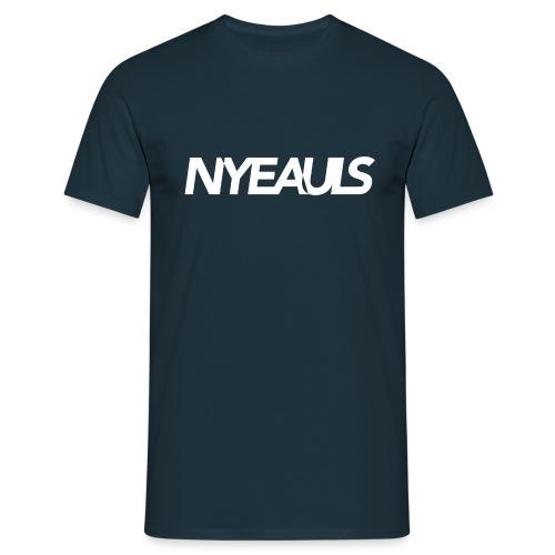 NYEAULS logo - Mannen T-shirt