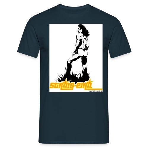 standing - Männer T-Shirt