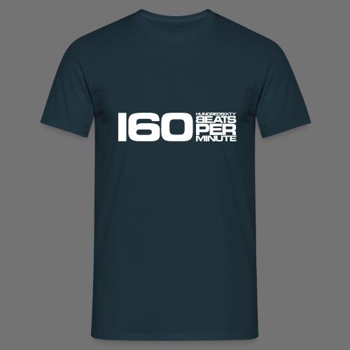 160 BPM (blanc long) - T-shirt Homme