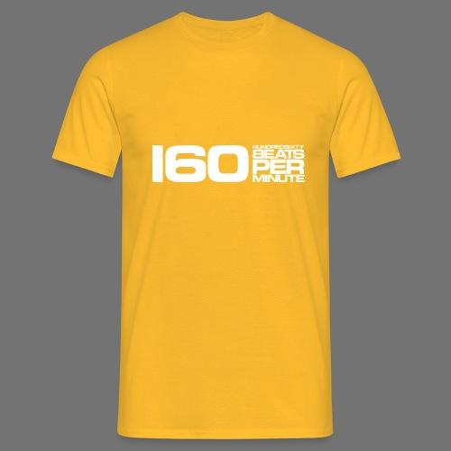 160 BPM (white long) - Men's T-Shirt