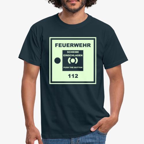 Feuermelder - Männer T-Shirt
