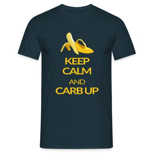 KEEP CALM and CARB UP - Männer T-Shirt