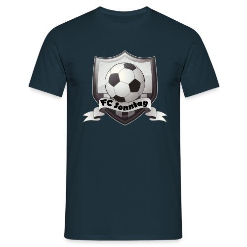 FC Sonntag Logo - Männer T-Shirt