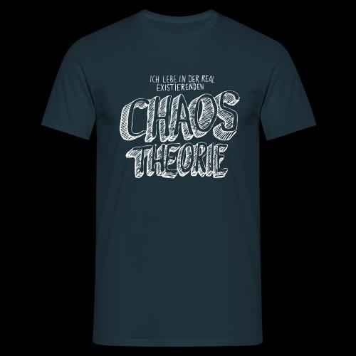 Chaos Theory (valkoinen) - Miesten t-paita