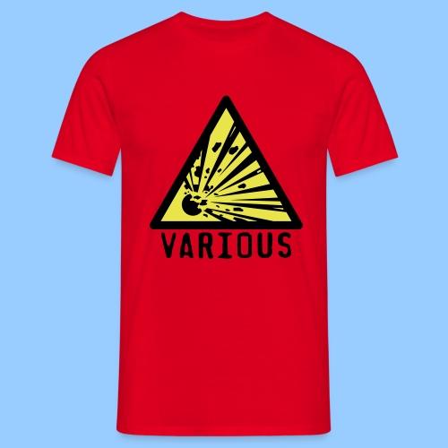 VariousExplosions Triangle (2 colour) - Men's T-Shirt