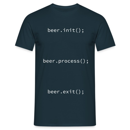initprocessexit - Men's T-Shirt