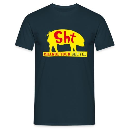 SHT pork yellow - Maglietta da uomo
