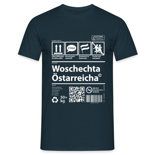 Vorschau: Woschechta Österreicha - Männer T-Shirt