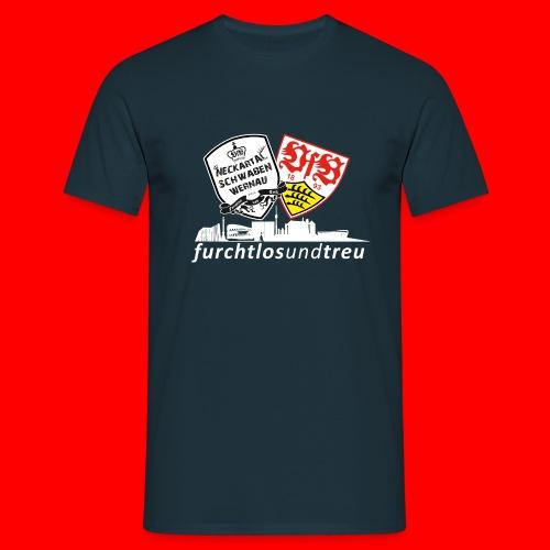 NTS furchtlosundtreu weiß png - Männer T-Shirt