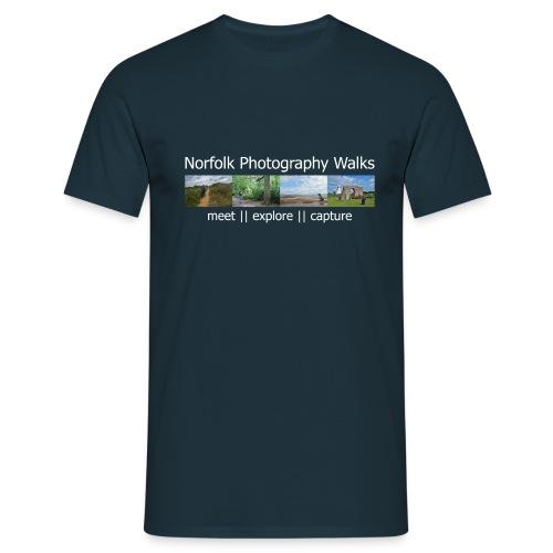 Norfolk Photography Walks - Men's T-Shirt