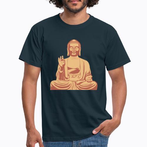 buddha om - Men's T-Shirt
