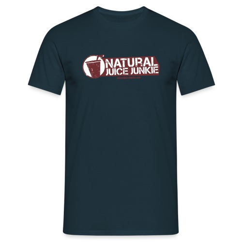 Natural Juice Junkie Logo - Men's T-Shirt