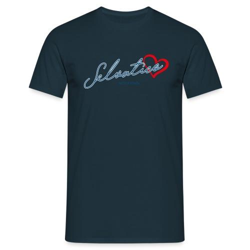 Selvatico_cuore - Maglietta da uomo