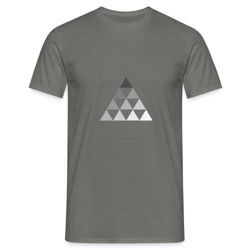 TRIANGLE FADE - Maglietta da uomo