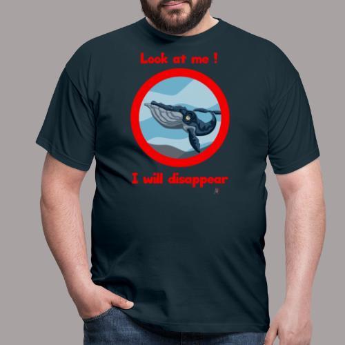 regardez moi ! baleine - T-shirt Homme