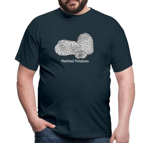 Meshed Potatoes - Männer T-Shirt