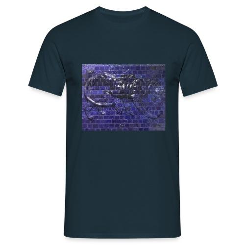 Panther Relief - Männer T-Shirt