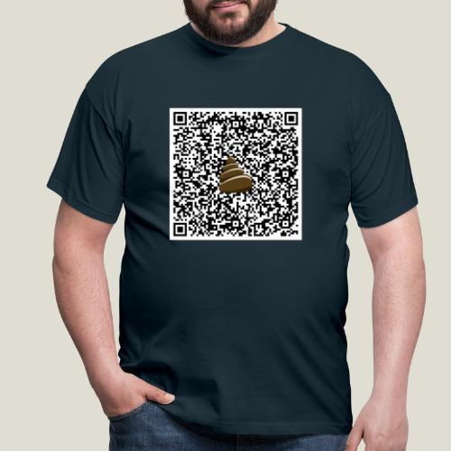 QR-kod bajshoroskop - T-shirt herr