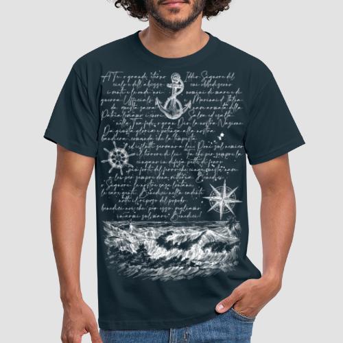 Preghiera del marinaio - Maglietta da uomo