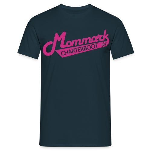 Mommark Charterboot Modelogo - Männer T-Shirt