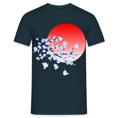 Cherry Blossom Festval Full Moon 4 - Männer T-Shirt
