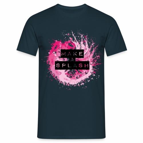 Make a Splash - Aquarell Design - Männer T-Shirt