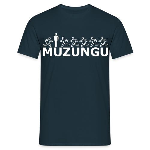 MUZUNGU - Girlie - Männer T-Shirt