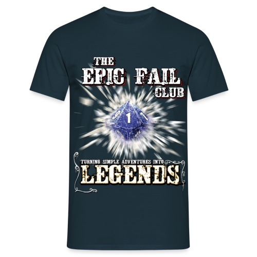Epic Fail Club D10 - Men's T-Shirt