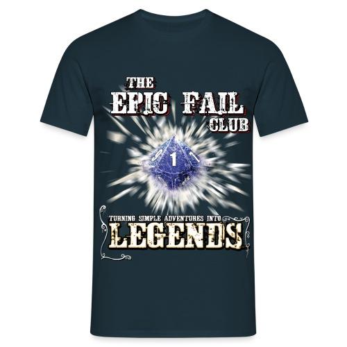 Epic Fail Club D10 - Men's T-Shirt
