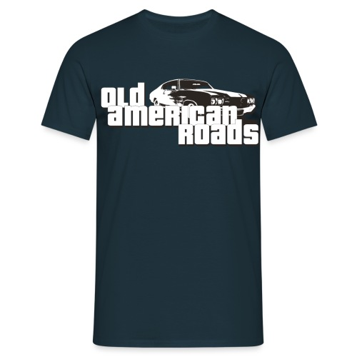 Old American roads - T-shirt Homme