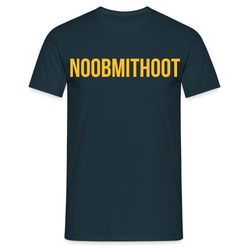 noobmithoot 1 - Männer T-Shirt
