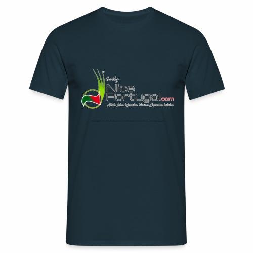 NicePortugal.com Logo - Maglietta da uomo