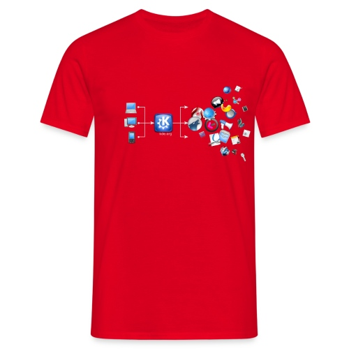 kdetshirt flowchart300dpi - Men's T-Shirt
