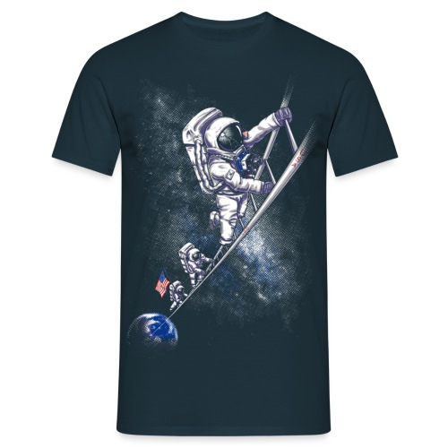 July 1969 spaceman - Men's T-Shirt