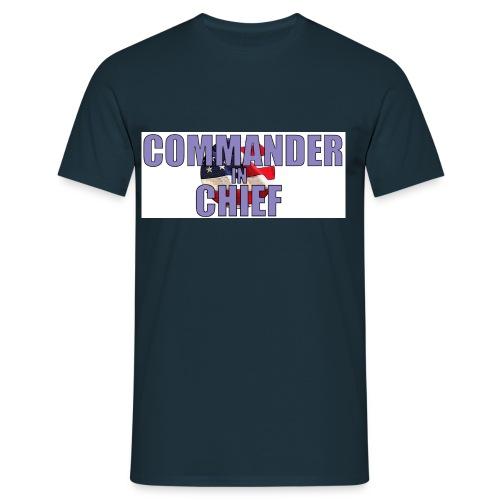 Commander in Chief - Männer T-Shirt