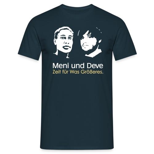 mein und deve zweifarbig - Männer T-Shirt