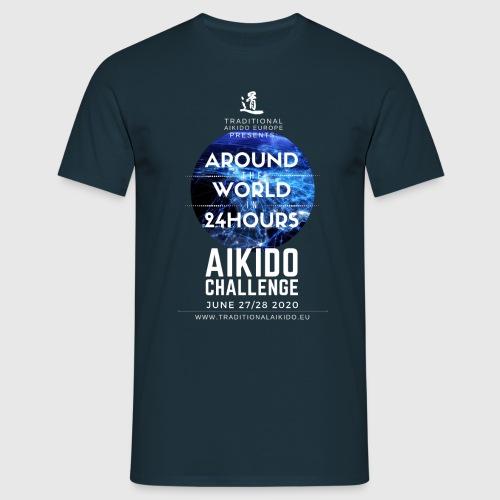 TAE Around the World in 24 Hours AIKIDO CHALLENGE! - Men's T-Shirt
