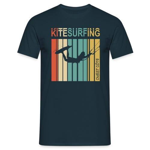 Kitesurfing Ouest Côte - T-shirt Homme