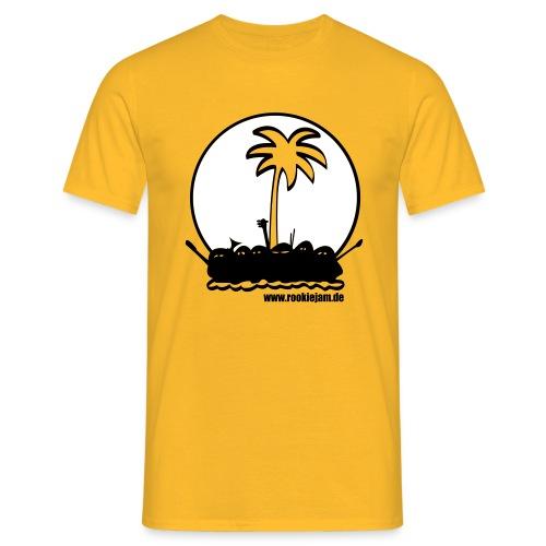 tslogogelb v2 - Männer T-Shirt