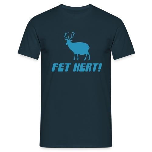 Fet Hert - Men's T-Shirt