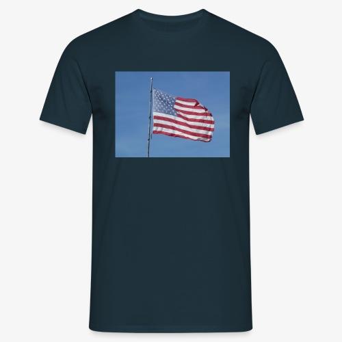 USA Flagge - Männer T-Shirt