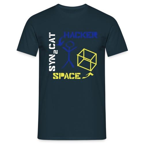 hacker_space - Men's T-Shirt