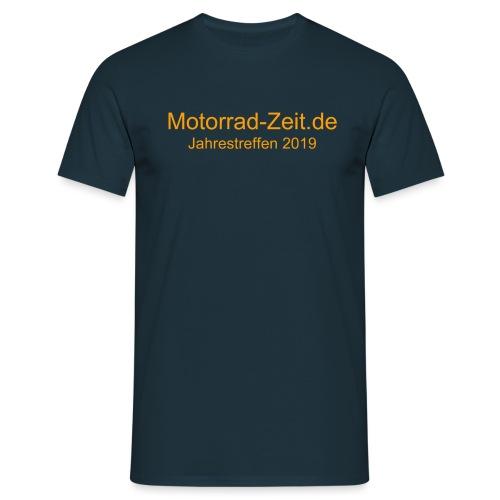 Jahrestreffen 2019 ohne Logo - Männer T-Shirt