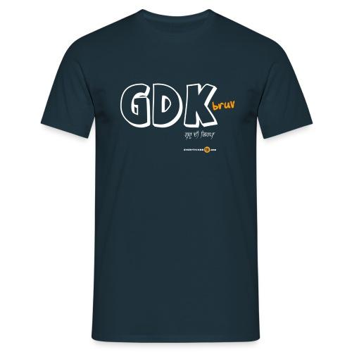 GDK bruv - Men's T-Shirt