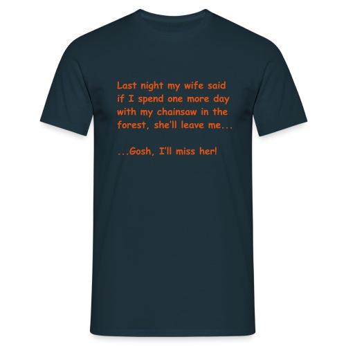 fun 1k - Männer T-Shirt