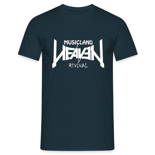 Heaven Revival Navy - Männer T-Shirt