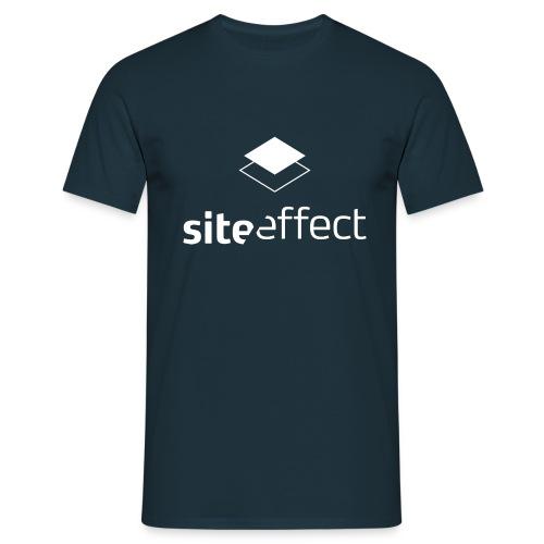 logo_tshirt_high_res_whit - Männer T-Shirt
