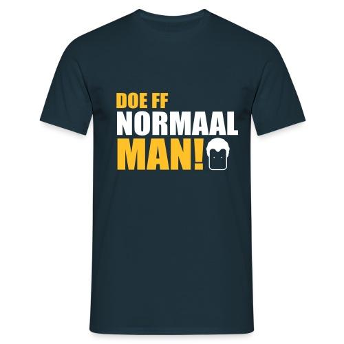 DOE FF NORMAAL MAN! (Wilders) - Mannen T-shirt