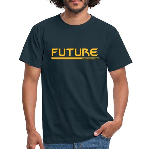Future Downloading - Männer T-Shirt