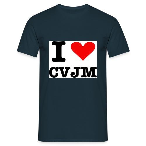 I love CVJM - Männer T-Shirt